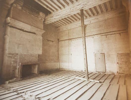 Chambre de François Ier, état avant 1967
